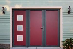 Les portes extérieures