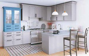 Où poser les éléments bas de la cuisine ?