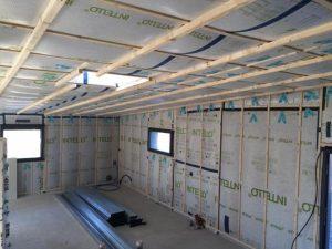 Isolation thermique pour bâtiment