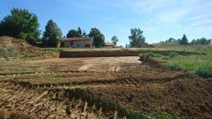 Les étapes de terrassement d'un terrain