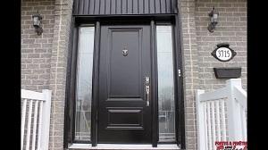 Quelles sont les différents types de portes extérieures ?
