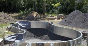 Les différentes étapes de construction d'une piscine