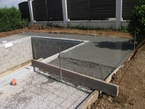 Les étapes de construction d'une piscine