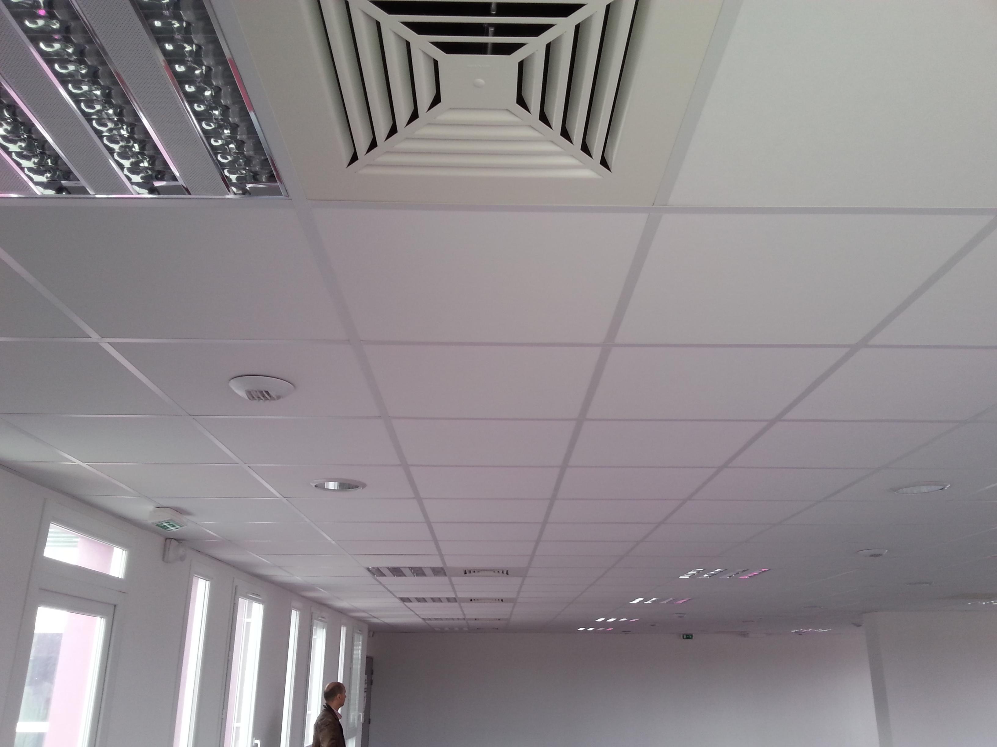 les types de plafond