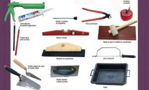 Outils indispensables pour la pose de carrelage