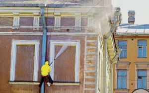 Comment nettoyer une façade de maison ?