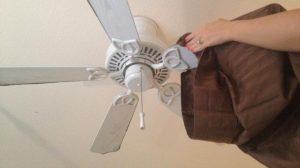 Réussir le nettoyage d'un ventilateur de plafond