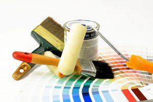 Le matériel de peinture en bâtiment