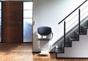 Installation d'un monte-escalier
