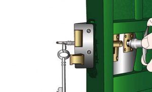 Comment poser une serrure sur une porte ?