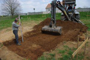 Les étapes d'un chantier de terrassement