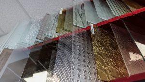Les différentes variétés de verres