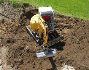Les différentes phases des travaux de terrassement