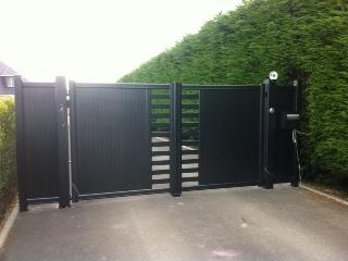 Les différents types d'ouverture de portail